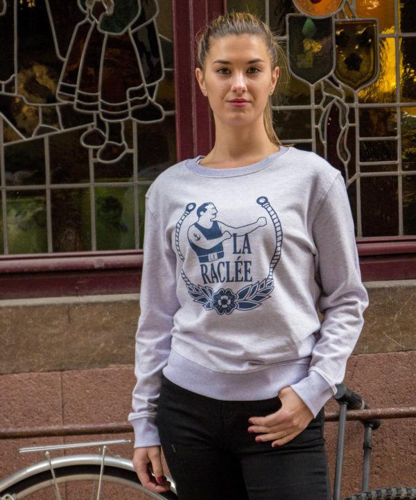 Sweat-Shirt Lilas pour femme disponible à Strasbourg